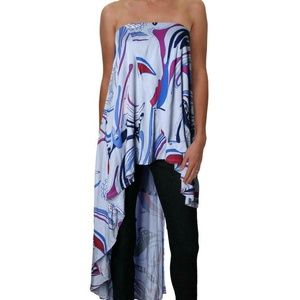 NWT Free People Long Strapless Top Size Small